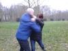 Selbstverteidigung im Park