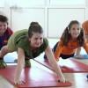 Kinder beim Training