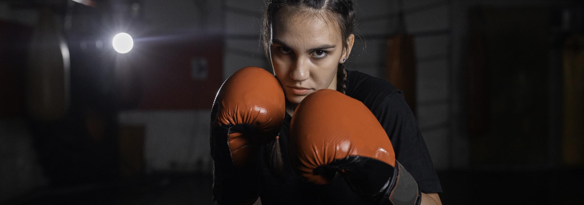 Jugend Mädchen Kickboxen